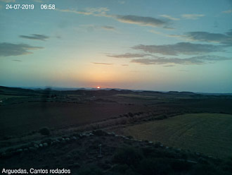 Webcam Bardenas.